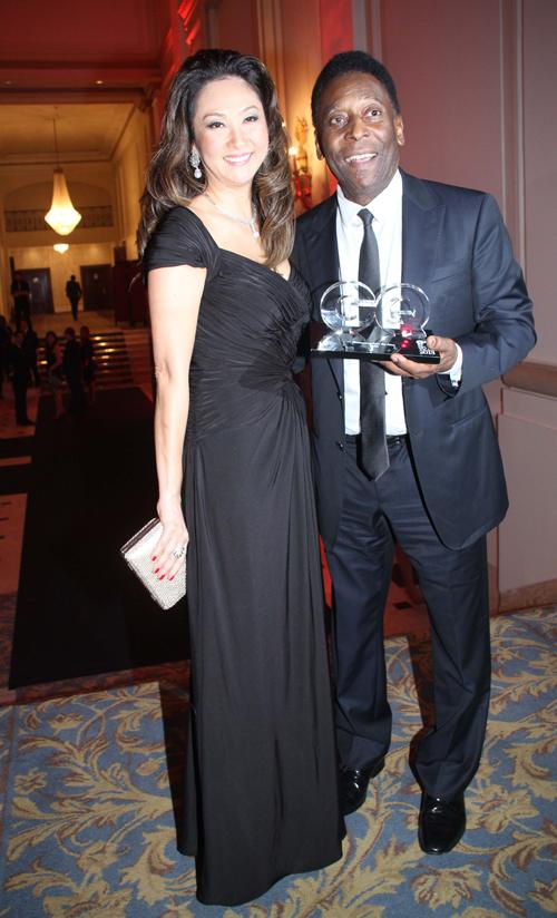 GQ-Marcia Aoki e Pelé