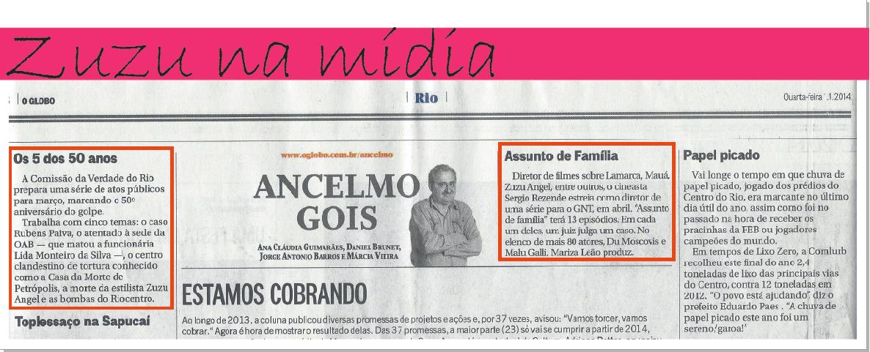 Post coluna Ancelmo Goes