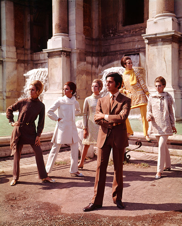 valentino-with-models-1967_610px
