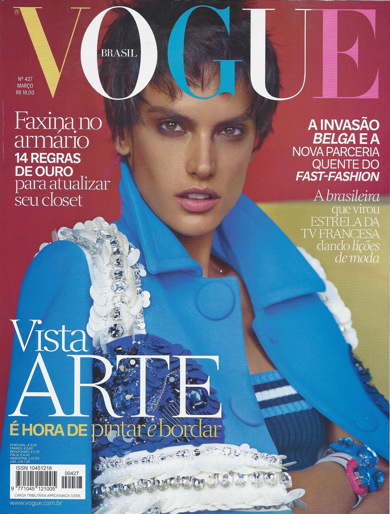 clipping vogue capa