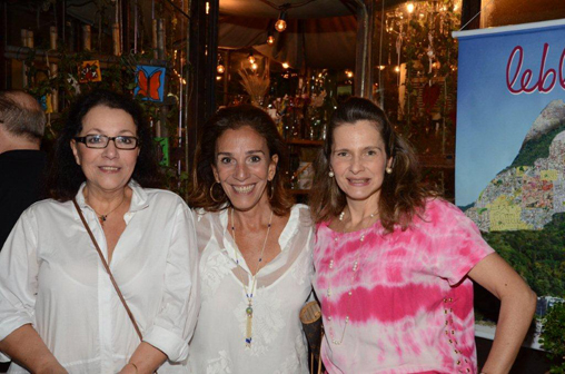 Lúcia Chamma  Alicinha Silveira e Ana Paula Leão  Teixeira