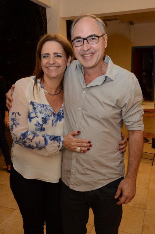 O casal Ana Luiza Novis e Carlos Eduardo Keller
