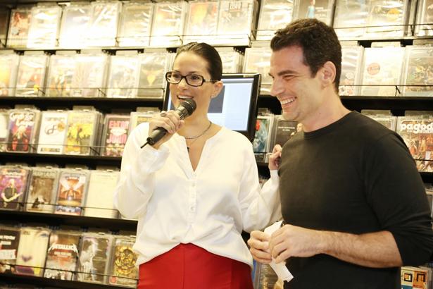 Paula Klien e Andre Sank