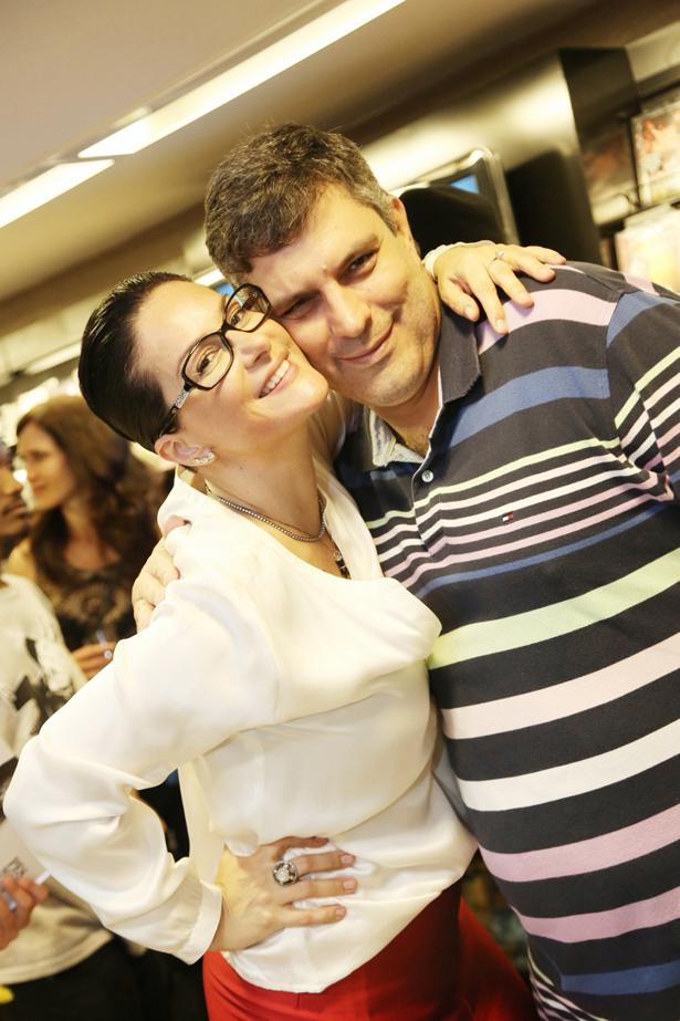 Paula Klien e Fábio Cuiabano