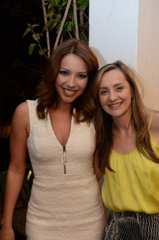 Renata Dominguez e Lucia Helena Abdalla