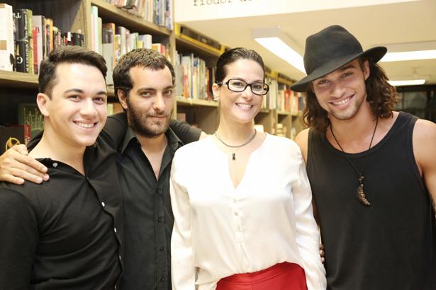 Vinicius Belo  Cande Salles  Paula Klien e Pablo Morais