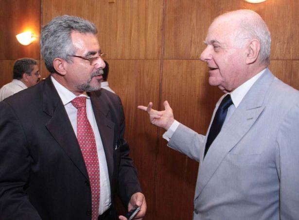Petrobrás  presidente do CREA - Reynaldo Barros e Francis Bogossian