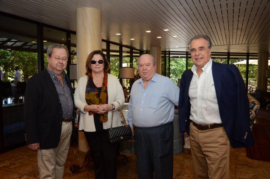 Levinsohn Francisco Weffort, Helena Severo, Ronald Levinson e Roberto D'Avila