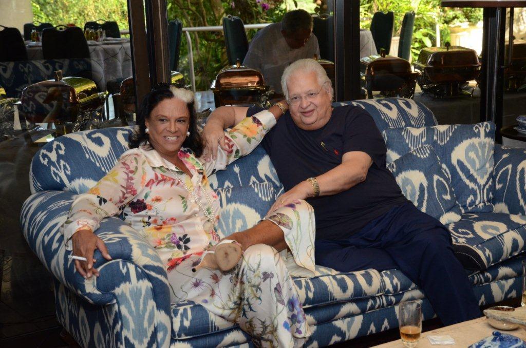 Levinson Beth Lagardère e Carlos Alberto Serpa