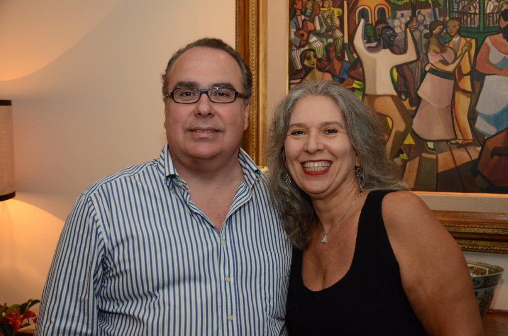 Levinson Carlos Leal e Claudia Levinson