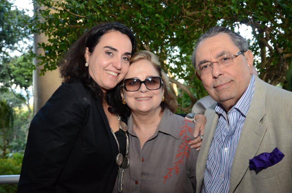 Levinson Soraia Cals, Hildegard Angel e Roberto Halbuti
