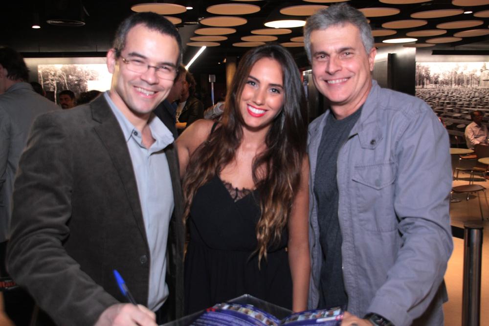 Ricardo Soares , Daniela Carneiro. e Ronaldo Gontijo