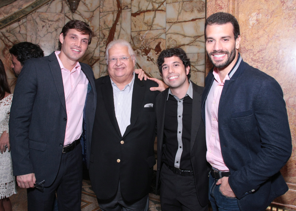 Alexandre Machafer, Carlos Serpa, Gustavo Tavares e Robson Maia