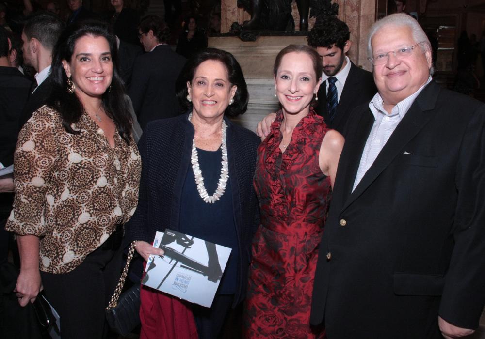Ana e Belita Tamoyo, Ana Botafogo e Carlos Serpa