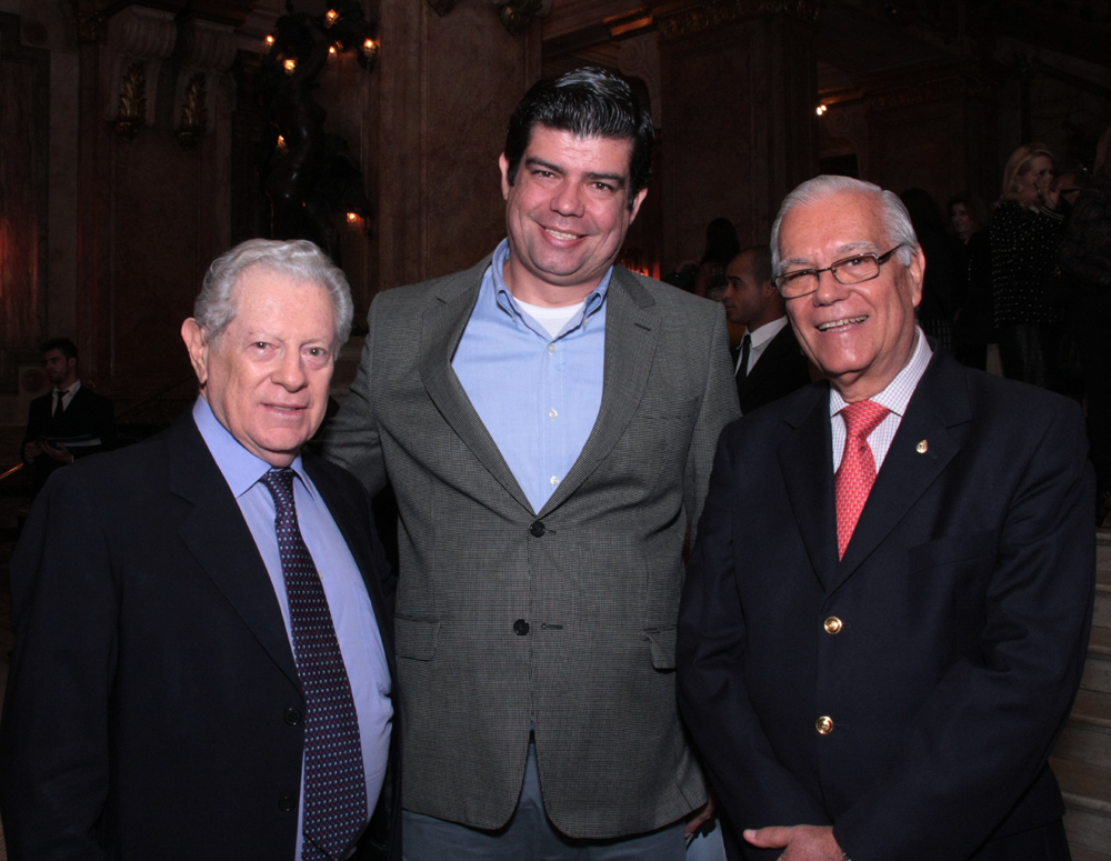 Arnaldo Niskier, Bernardo e Ronaldo Cavalheiro