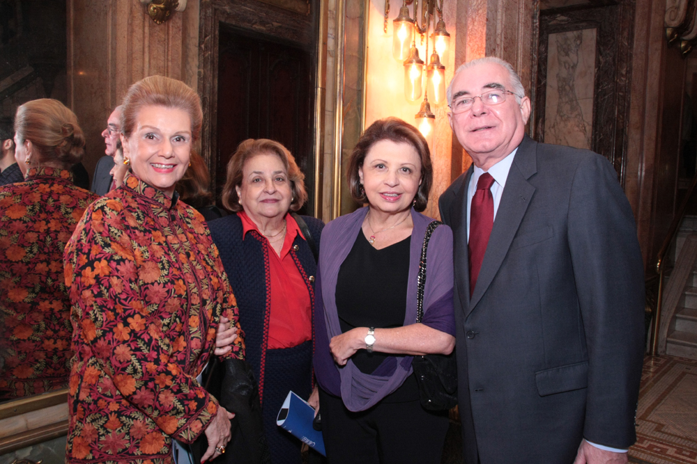 Liane Resende, Maria Tereza Fatorelli , Regina e Miguel Padilha(1)