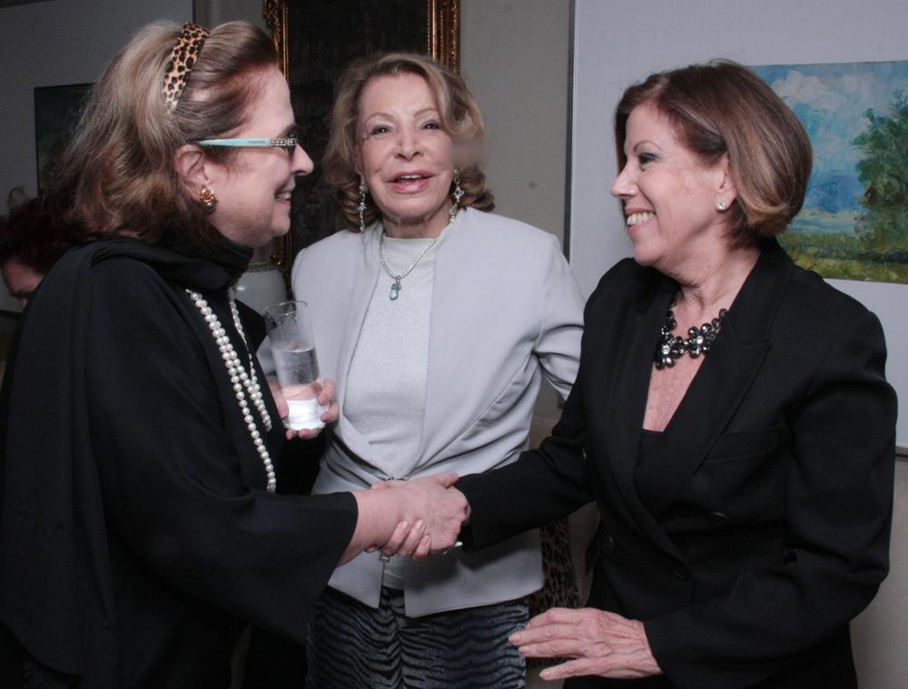 Hildegard Angel, Ilka Bambirra e Sylvia de Castro