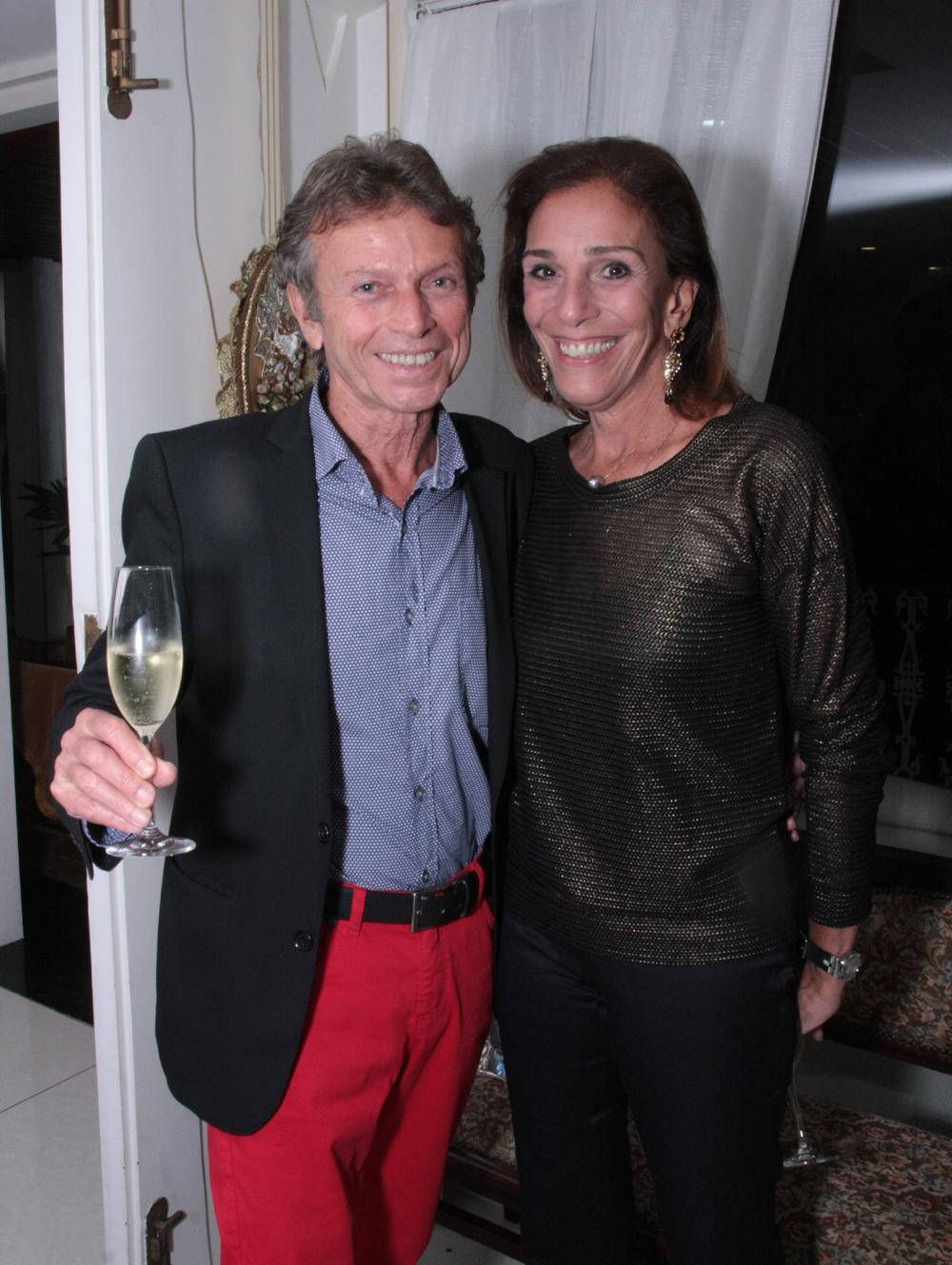 Marco Rodrigues e Alice Silveira