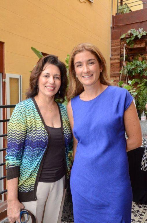 Ana Maria +ìndio da Costa e Marina Linhares