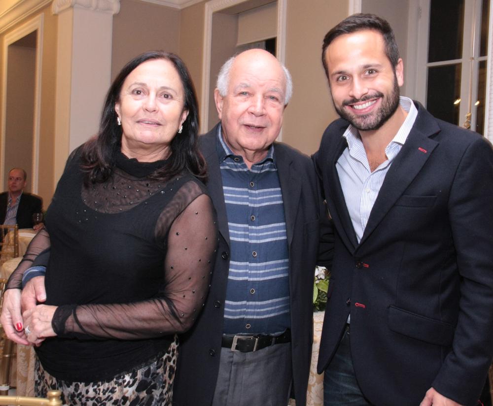 Angela e Carlos Muniz e Marcelo Calero