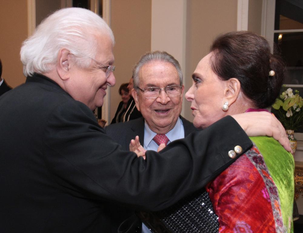 Carlos Serpa, Heitor e Lilian Gurgulino