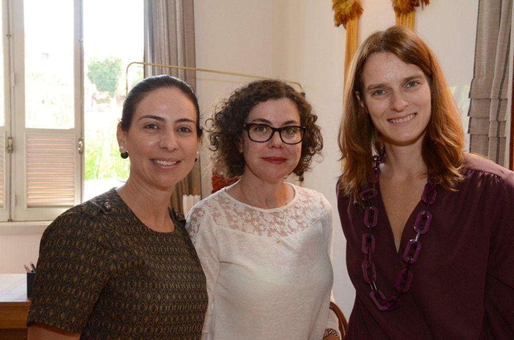 Daniela Manassero, Lucimara Faria e Kelly Cordes