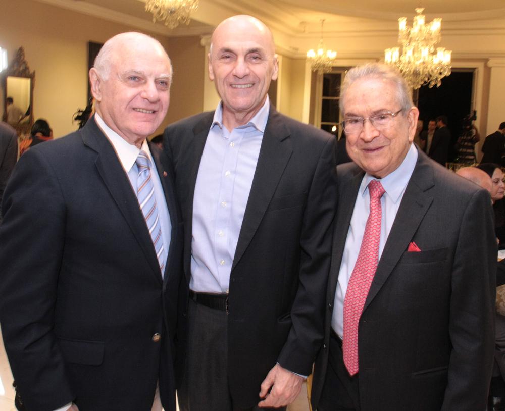 Francis Bogossian, Walter Moraes e Heitor Gurgulin