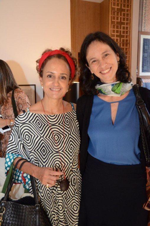 M+írcia Martins (cocares) e Patr+¡cia Issler