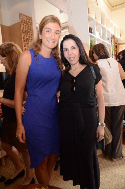 Marina Linhares e Paola Ribeiro