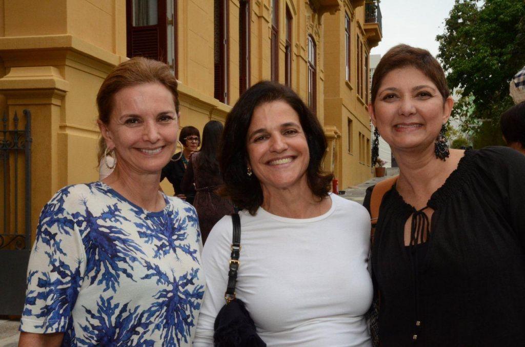Paula Bergamin (Paisagista), Bebel Palhares e Fernanda Pessoa de Queiroz