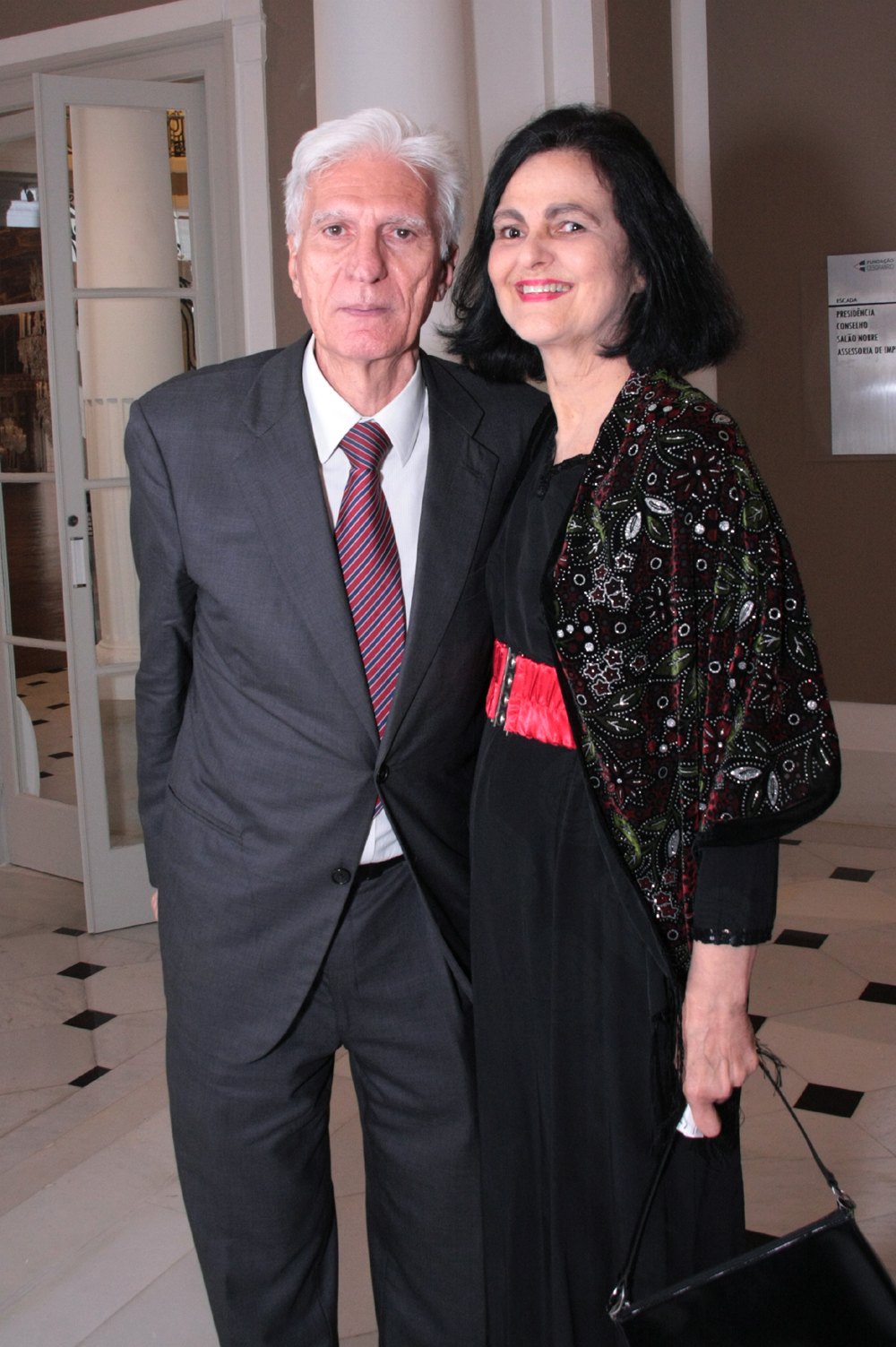 Roberto e Maria Judith Sucupira Lins