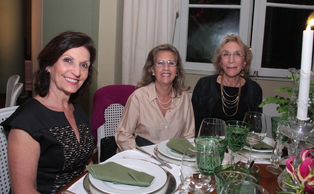 Wanda Quadra, Ana Batista e Ruth Stern