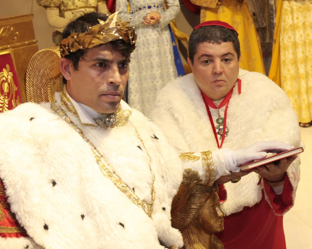 apresentação da peça de Teatro Coroação de Napoleão- (2)