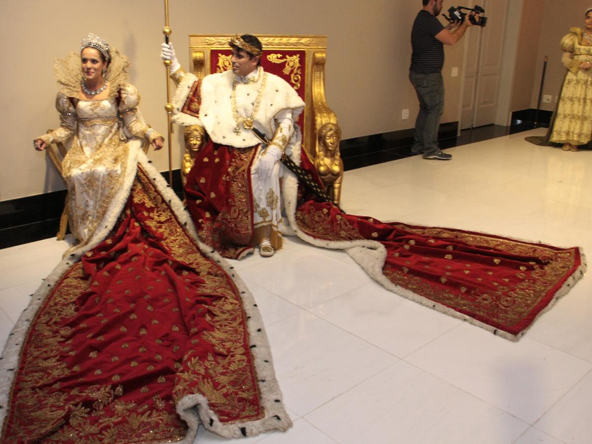 apresentação da peça de Teatro Coroação de Napoleão- (7)