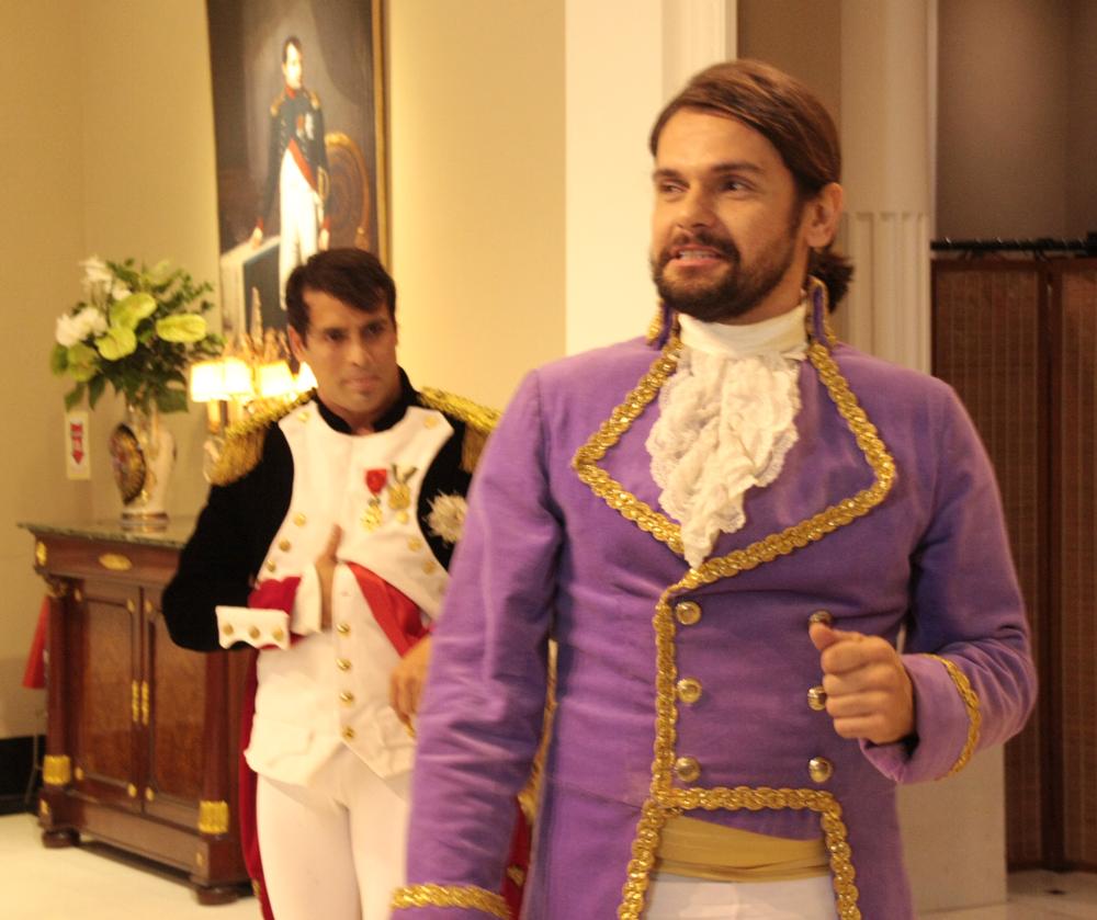 apresentação da peça teatral Coroação de Napoleão- (6)