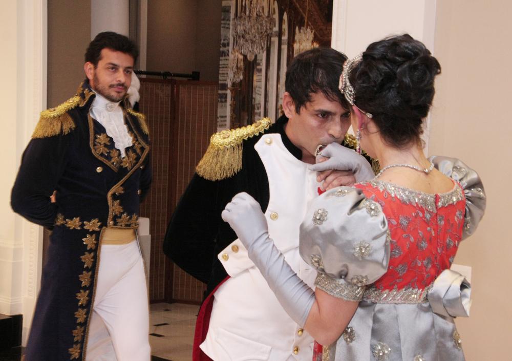 apresentação da peça teatral Coroação de Napoleão- (7)
