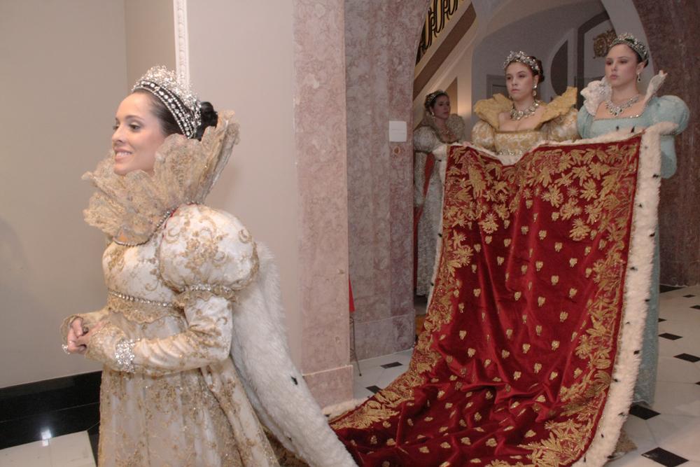 apresentação da peça teatral Coroação de Napoleão- (8)