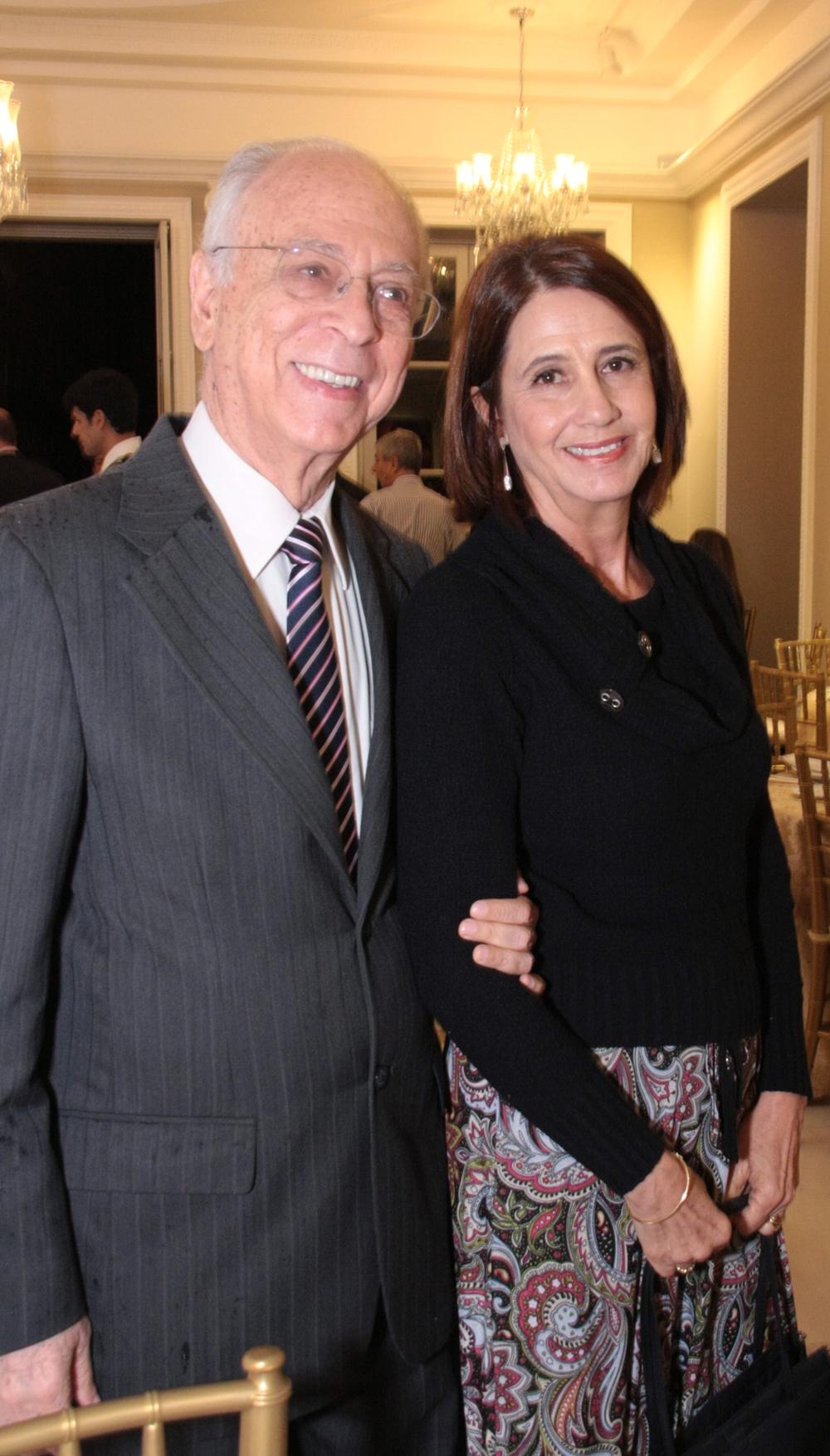 dom Antonio Celso e Monica Pereira
