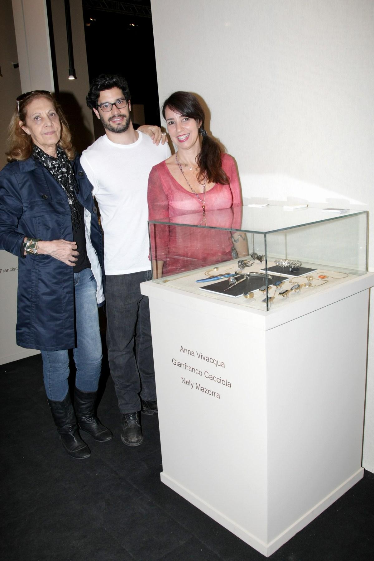 joia brasil -Nely Mazorra, Gianfranco Cacciola e Anna Vivacqua