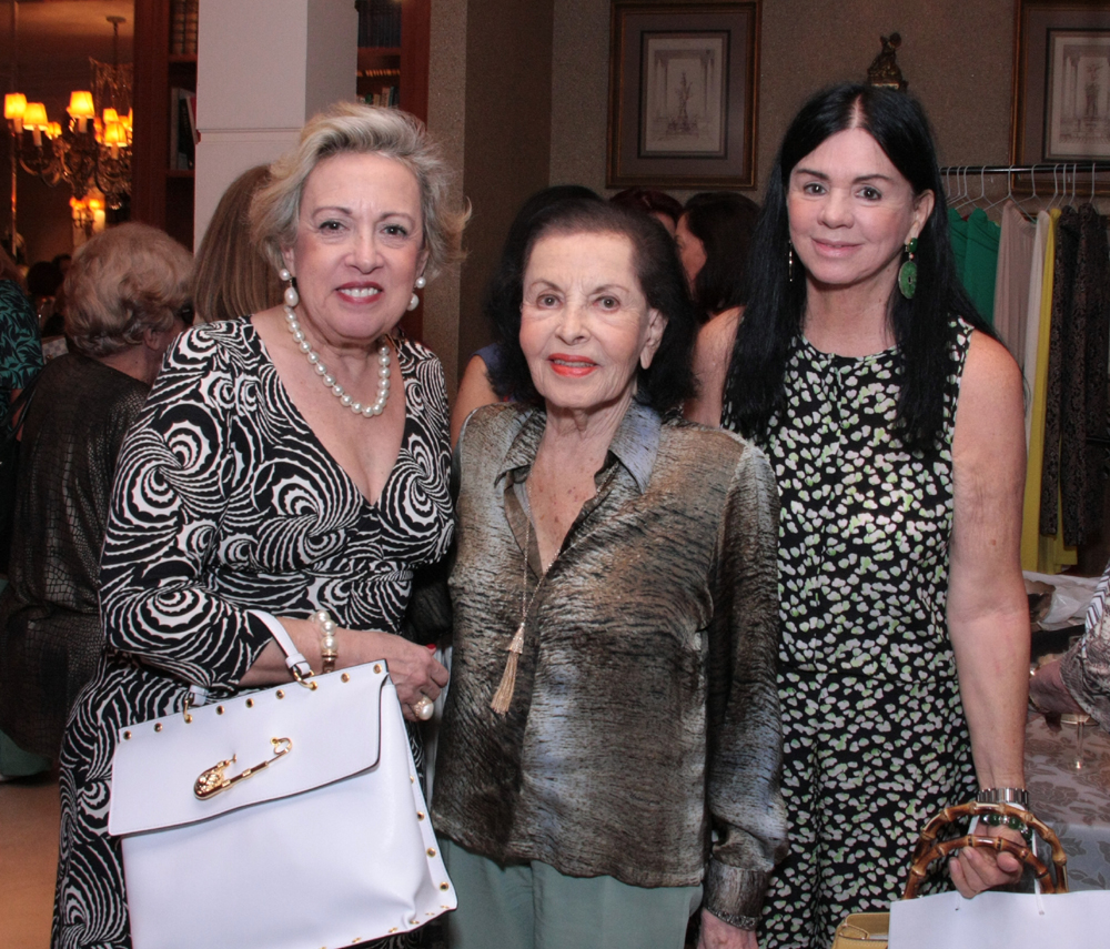 Íssima Maria Celia Moraes, Bertha Mendes e Souza e Maria Tereza Moraes
