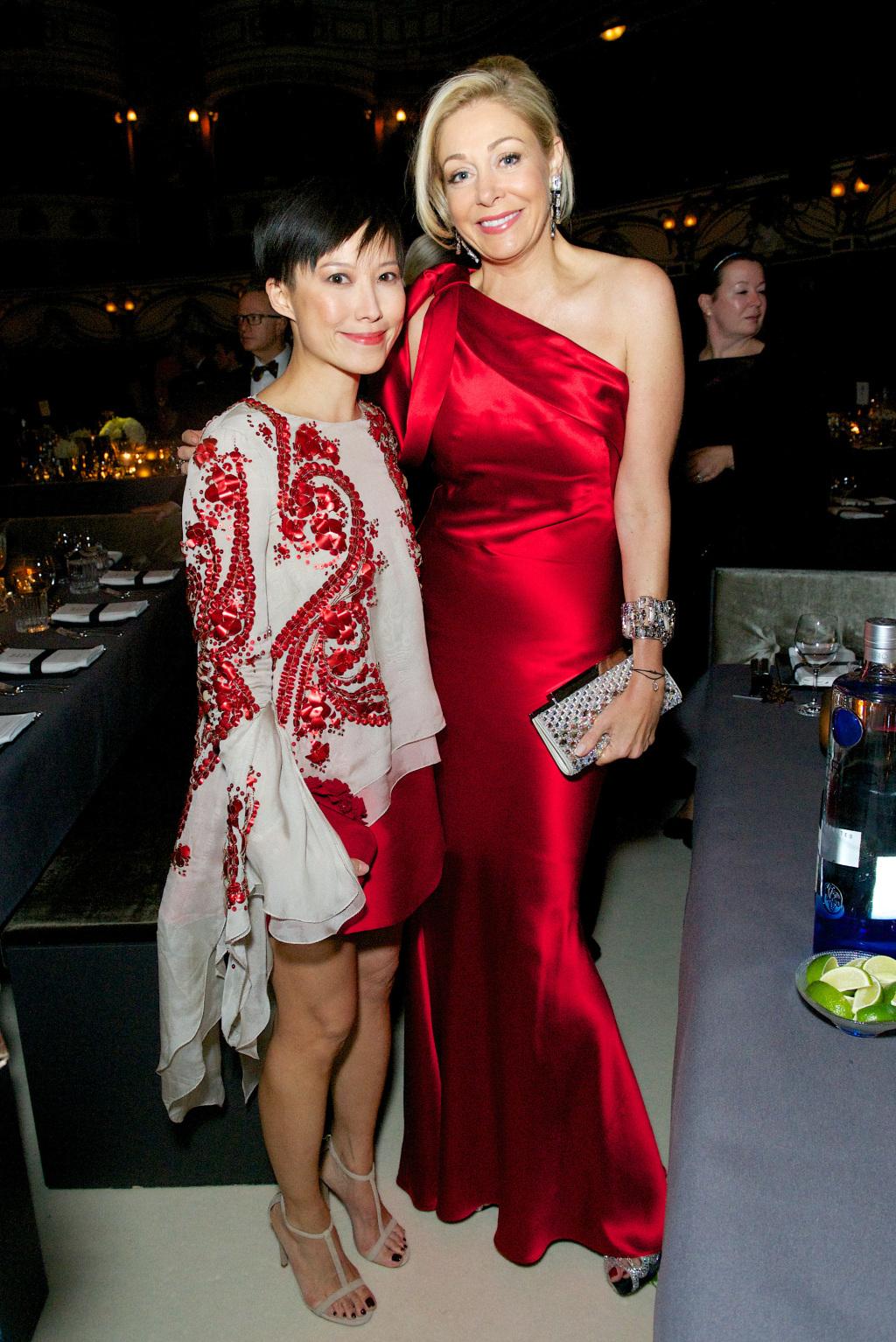 Sandra Choi and Nadja Swarovski